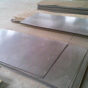钛板的生产工艺流程